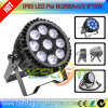 New LED Flat PAR Light 9PCS*18W UV+RGBWA LED PAR 64 for Disco Light