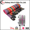 Durable Rainbow Luggage Cross Strap with Metal Clasp/ Travel Baggage Belt
