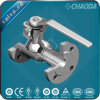 JIS Standard 10k Flanged One Piece/1 Piece Ball Valve