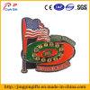 2017 Hot Sale Custom Flag Shape Metal Souvenir Badge