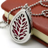 Dongguan Stainless Steel Teardrop Aromatherapy Essential Oil Diffuser Necklace