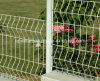 Ral 6005 2V 3V Folds Welded Wire Mesh Fence