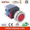 Onpow 30mm Push Button Switch (LAS0-K30-11/R/12V/S, CE, CCC, RoHS)