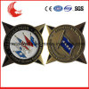 High Quality Plating Gold Army Uniform Metal Badges