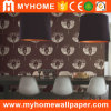 Home Decoration Non-Woven Products Flock Wallpaper 2016 New