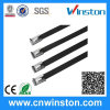 High Resistance Lock Naked Stainless Steel Cable Ties with CE