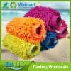 26*19cm 120g Colorful Chenille Microfiber Car Cleaning Glove