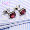 VAGULA Silver Plated Copper Fashion Shirt Cufflinks for Man