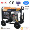 3kw Diesel Generator with Big Wheels