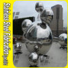 Hollow Sphere Stainless Steel Outdoor Sculpture