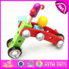 Amusing Educational Wooden Screw Assembly Toy Car for Kids, Multipurpose Wooden Toy Screw Nut Combination for Children W03c017