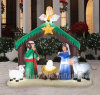 Hot Sale Christmas Decoration Inflatable for Christmas Celebration (CYAD-1453)