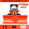 Qingdao Everun 1.5 Ton Agricultural Equipment Small Wheel Loader with Wooden Forks