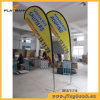 2.8m Outdoor Aluminium Digital Printing Teardrop Flag/Flying Banner