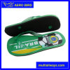 Men PE Sandal with Brazil Flag&Football Print (14D190)