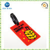 Custom Embossed Logo Luggage Tag with Plastic Hanger (JP-; T025)