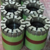 Drilling Core Bit/Diamond Core Drill Bit Turbo Type/for Any Rock Hardness