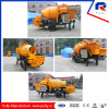 Ce Certificate Approved Trailer Concrete Mixing Pump