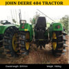 China Agriculture 4WD Tractor John Deer 484, Agricultural Machinery John Deere 484 Tractor