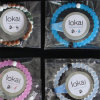 Multi-Color Balance Ball Plastic Silicone Bead Bracelet