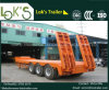 3axles Lowbed Semi-Trailer