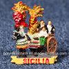 Polyresin Italy Sicily Sicilian Cart (Carrettu Sicilianu)