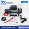SUV 12V/24VDC off-Road Electric Winch with 10000lb Load Capacity
