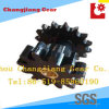 Sprocket and Spur Gear with Copper Brush