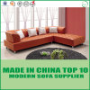Modern Living Room Furniture Wooden Leather Sofa Set