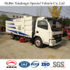 6cbm Dongfeng Euro 4 Vacuum Suction Road Sweeper Washing Truck