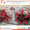HDPE PPR LDPE Plastic Pipe Winder with Double Disk