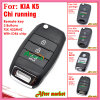 Flip Remote Key for KIA Chi Running Old K5 with 3 Buttons Fsk 433MHz