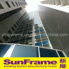 Aluminium Composite Panel Curtain Wall with Frame and Glasses