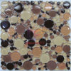 Round and Irregular Shape Glass Mosaic Tile (CFC316)