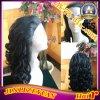 Curly Virgin Brazilian Remy Human Hair Wig
