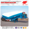 Qilin 3 Axles Bulk Cement Truck Trailer /Cement Tanker