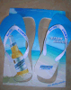 Beer Logo Printed Summer Marketing Gift EVA Flip Flops Slipper