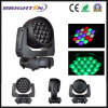 RGBW Prolights Moving Heads 19*15W Show Lights Wash Zoom