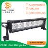 13 Inch 60W LED Light Bar 12V Single Row CREE