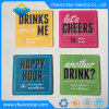Custom Color Printed Absorbent Paper Drink Coasters