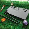 Luxury Black Acrylic Empty Cosmetic Eyeshadow Palette Holder
