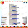 Customized Steel Iron Shelving Supermarket Flat Back Panel Wall Shelves (Zhs582)