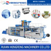 Tilting Thermoforming Machine for Beverage Packaging (Model HFTF-80T)