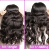 Guangzhou Suppliers 7A Grade Unprocessed Virgin Brazilian Human Hair (QB-BVRH-BW)