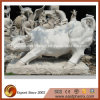 Natural Polished Granite Animal Sculpture