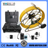 Inspection Pipe Camera with 120m Fiberglass Cable, Built-in Meter Counter
