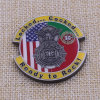 Custom Metal Military Brass Coins with Epoxy