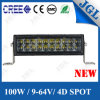 100W Super 4D LED Light Bar Offraod Auto Vehicles Lights