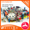 Hot Sale Kids Indoor Space Theme Tunnel Playground Equipment