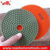 "4"" Wet Granite Velcro Back Polishing Pad"